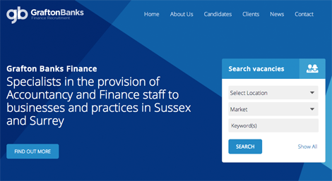 Screenshot of Grafton Banks Finance