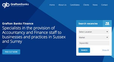 Screenshot of Grafton Banks Finance
